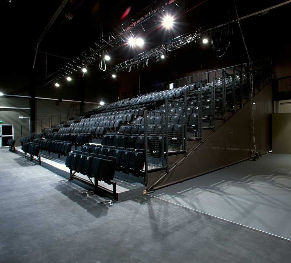 gradins de la salle de spectacle de théâtre