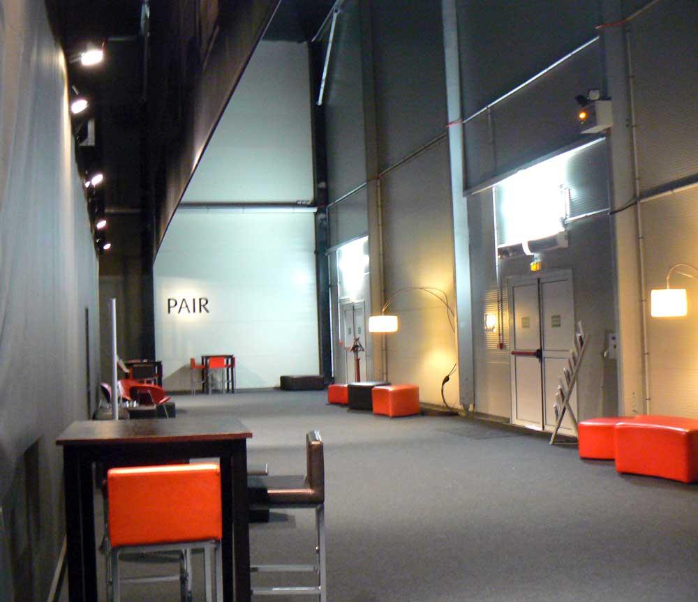 hall public de la salle de spectacle de théâtre