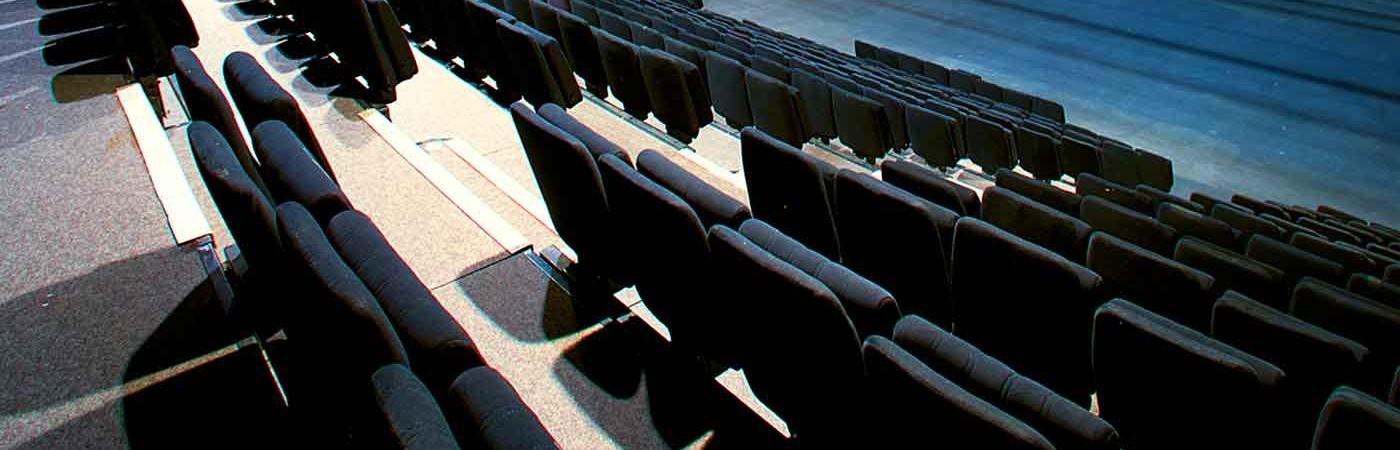 gradin de la salle de spectacle de théâtre